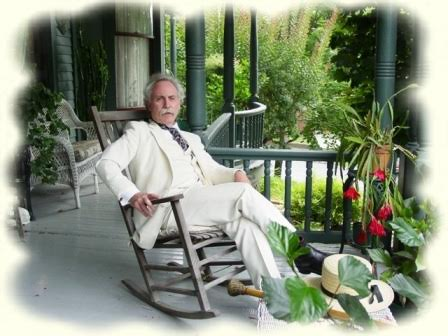 Richard Garey as Mark Twain