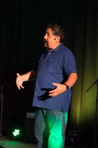 Jose Rojas speaks at Impact. Credit: Suzanne Ocsai