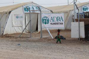 Baharka IDP Camp in Kurdistan. Credit: ADRA International