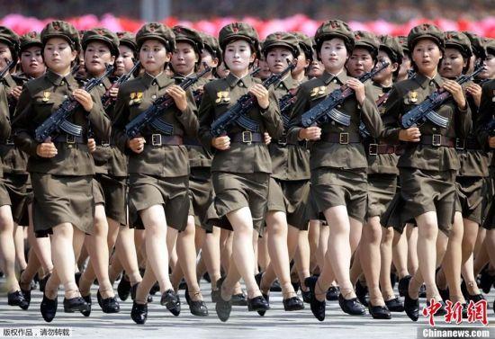 women korean soldiers