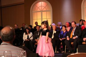 Zoei sings at the Family Reunion Concert