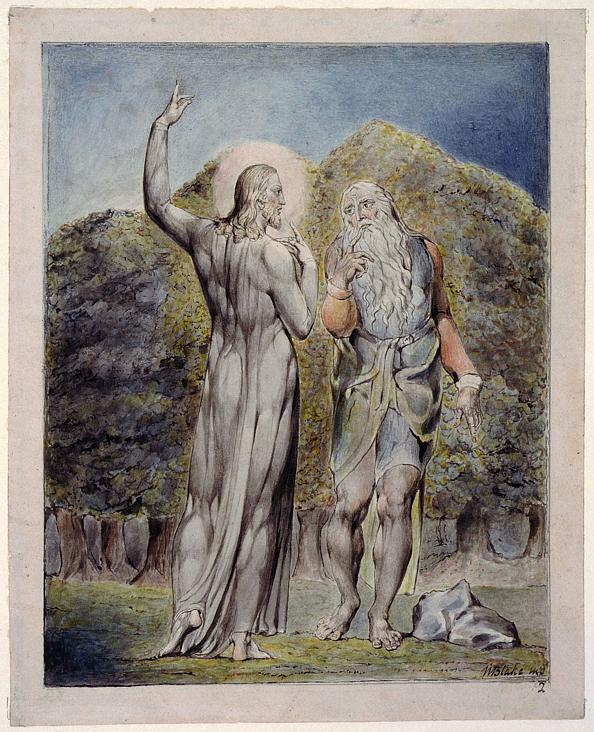 William Blake 1st Temptation