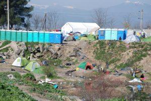 Photo of a refugee camp in Greece. Photo credit: ANN/ADRA International.
