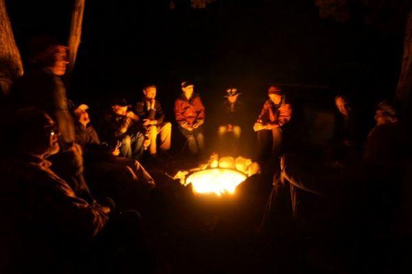 Figure 9. Campfire theology.