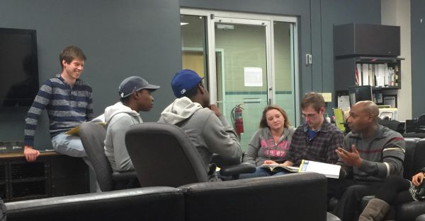 John Campbell AU Student topic: Financial Peace--photo sent by S Vatel