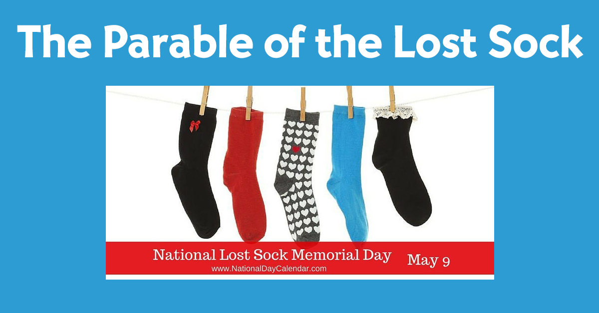 The Parable Of The Lost Sock Adventist Today